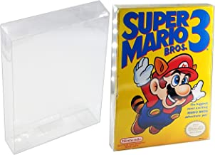 Nintendo NES Game Box Protector Case - 10 Pack by Malko