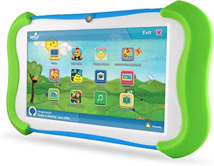 "Ematic Sprout Channel Cubby Cubby 7"" 16 GB Tablet"