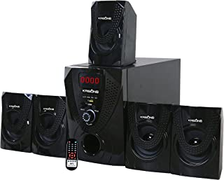 Krisons Nexon 5.1 Bluetooth Multimedia Home Theater (Black)