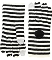 Kate Spade New York - Striped Spade Gloves