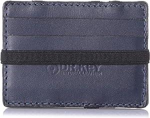 محفظة جلد مطفي بأستك للجنسين ماجيك من دكتور.كي - ازرق
