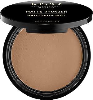 NYX Professional Makeup Matte Bronzer, Dark Tan, 0.33 Ounce