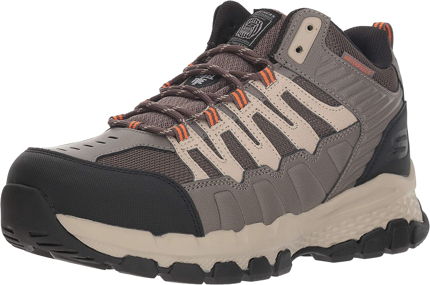 Skechers Fixed price for sale Men's Queznell Industrial free shipping Boot