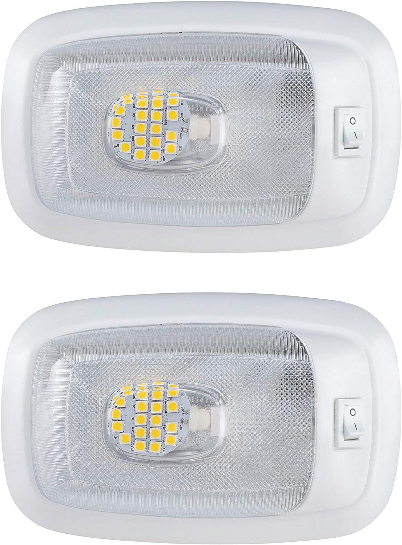 RV 12v LED Limited price sale Single Dome Lights 3200K online shopping Lighting Fixture