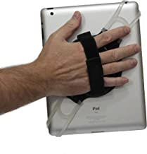 LapWorks Tablet Handler Strap with Adjustable Strap for All iPads, iPad Mini of Tablets up to 10.1 inch Including Samsung, Asus, Acer, Google, Lenovo, Kindles and Nooks