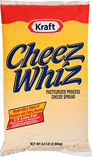 Cheez Whiz Cheese Sauce (6.5 lbs Bags, Pack of 6)