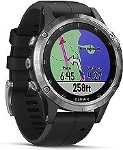 Garmin Fenix 5 Plus - Reloj GPS multideporte, Plata con