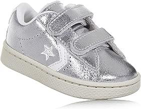 scarpe converse argento neonato