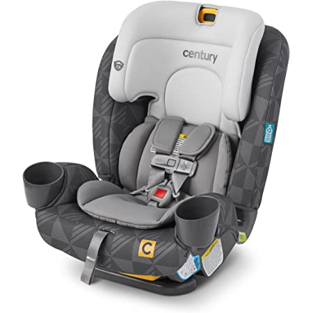 Century Drive On 3-in-1 Car Seat – All-in-One Car Seat for Kids 5-100 lb, Metro