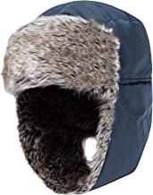 Wantdo Men's Trapper Hat Waterproof Winter Hunting Hat with Ear Flap