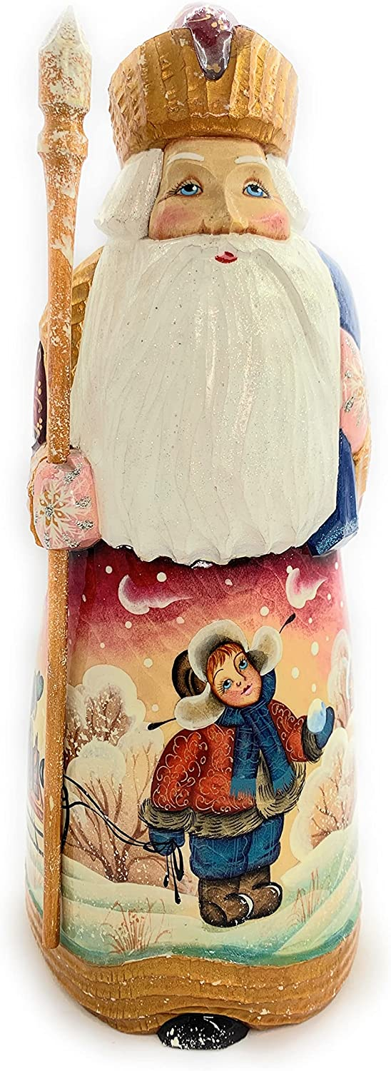 Author's Wooden Max Max 85% OFF 55% OFF Christmas Russian Santa 82