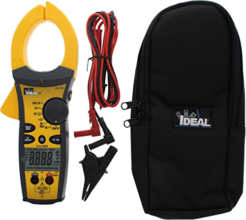 lowest IDEAL INDUSTRIES INC. 61-775 high quality 1000 Amp TightSight Clamp Meter AC/DC with TRMS, True RMS Current and Voltage, CATIII new arrival for 1000v, CATIV for 600v sale