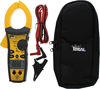 IDEAL INDUSTRIES INC. 61-775 1000 Amp TightSight Clamp Meter AC/DC with TRMS, True RMS Current and Voltage, CATIII for 1000v, CATIV for 600v