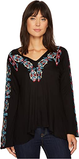 Scully - Amanda Embroidered Tunic