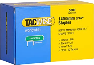 Tacwise 0341 Punti Zincati, 140/8 mm
