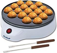 Machine à Takoyaki par StarBlue avec Fourches à Takoyaki GRATUITES - Machine électrique Simple Pour Faire des Boules de Po...