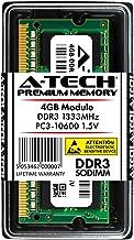 A-Tech 4GB DDR3 1333MHz PC3-10600 204-pin SODIMM Laptop Notebook Computer Memory RAM Module