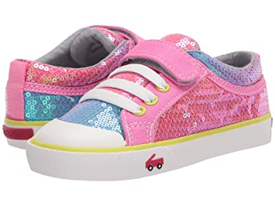 See Kai Run Kids Kristin (Toddler/Little Kid) (Rainbow Sequins) Girls Shoes