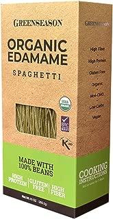 Organic Edamame Spaghetti - Bean Pasta - Gluten Free, High Protein and Fiber Noodles - 6 pack of 10 oz - Total 3.75 lb (1.7 kg)
