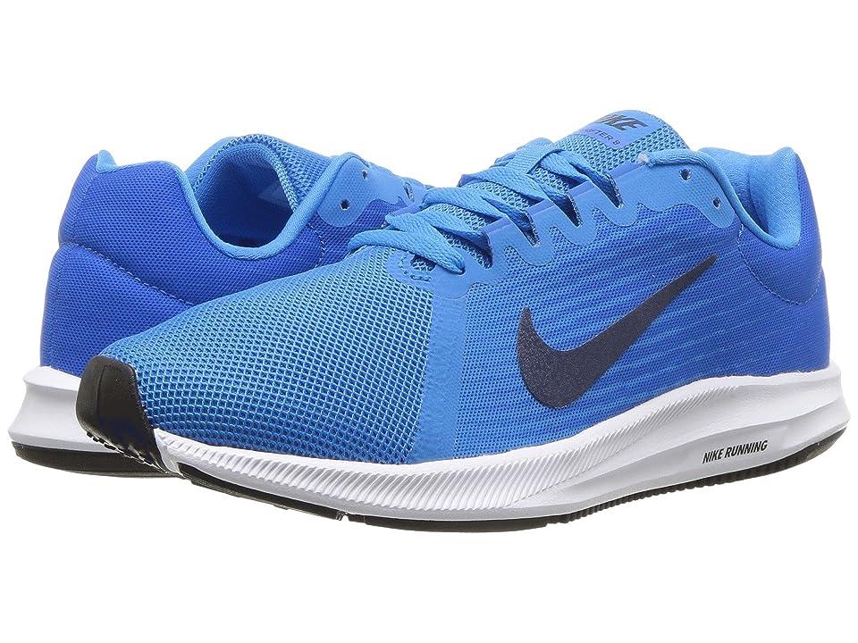 Nike Downshifter 8 (Blue Glow/Midnight Navy/Light Photo Blue) Women