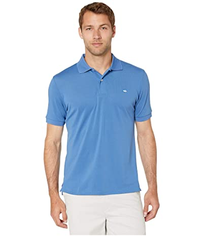 Southern Tide Jack Performance Pique Polo Shirt (Pompeii Blue) Men