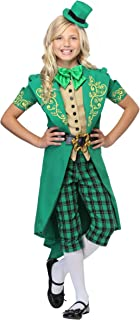 Charming Leprechaun Costume for Girls Kids St. Patrick's Day Outfit