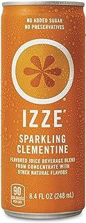 IZZE 果汁 Clementine 1罐8.4盎司(248ml) 24个