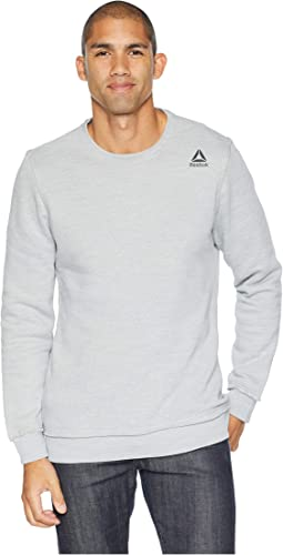 Elements Marble Melange Crew Sweatshirt