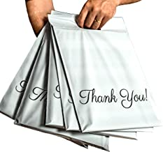 2 in 1 Poly Mailers with Handle 10x13, 100 Pcs Boutique Bags, Thank You Packaging Bags, Self Adhesive Shipping Bags, Premium Quality Mailing Envelopes, Mailing Bags for Clothing, 2.75 Mil, Donyson