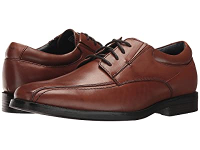 Dockers Endow 2.0 Bike Toe Oxford (Whiskey Polished Full Grain) Men