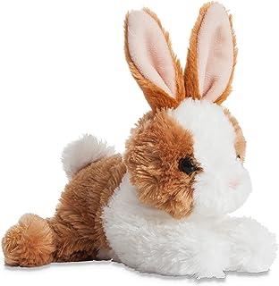 Aurora World 73902.0 Mini Flopsie Bunny Plush Toy (Brown/White)