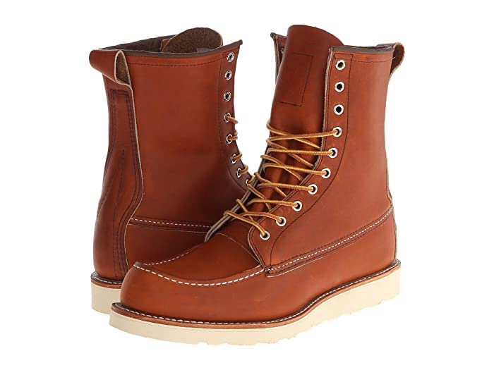 Men's Vintage Workwear Inspired Clothing Red Wing Heritage 8 Moc Toe Oro-Legacy Mens  Boots $299.99 AT vintagedancer.com