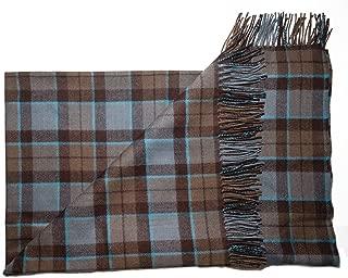 The Celtic Croft Outlander Blanket Premium Lambswool Tartan (Mackenzie)