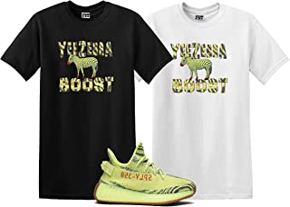 Bird Shirt to Match The Yeezy Boost 350 V2 SEMI Frozen Yellow YEBRA