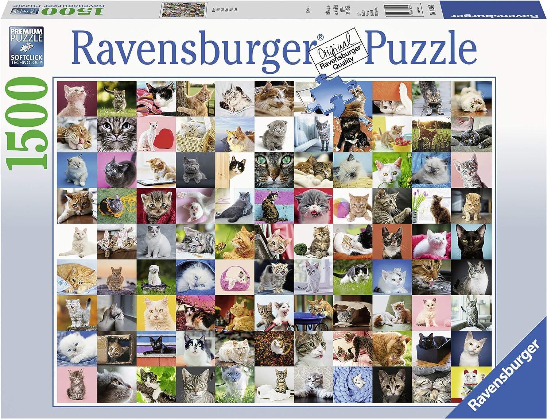 Large special price !! Ravensburger 16235 Max 71% OFF 99 Multicoloured Puzzle Katzen