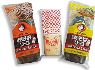 Okonomiyaki Okonomi Sauce Yakisoba Soße japanische Mayonnai