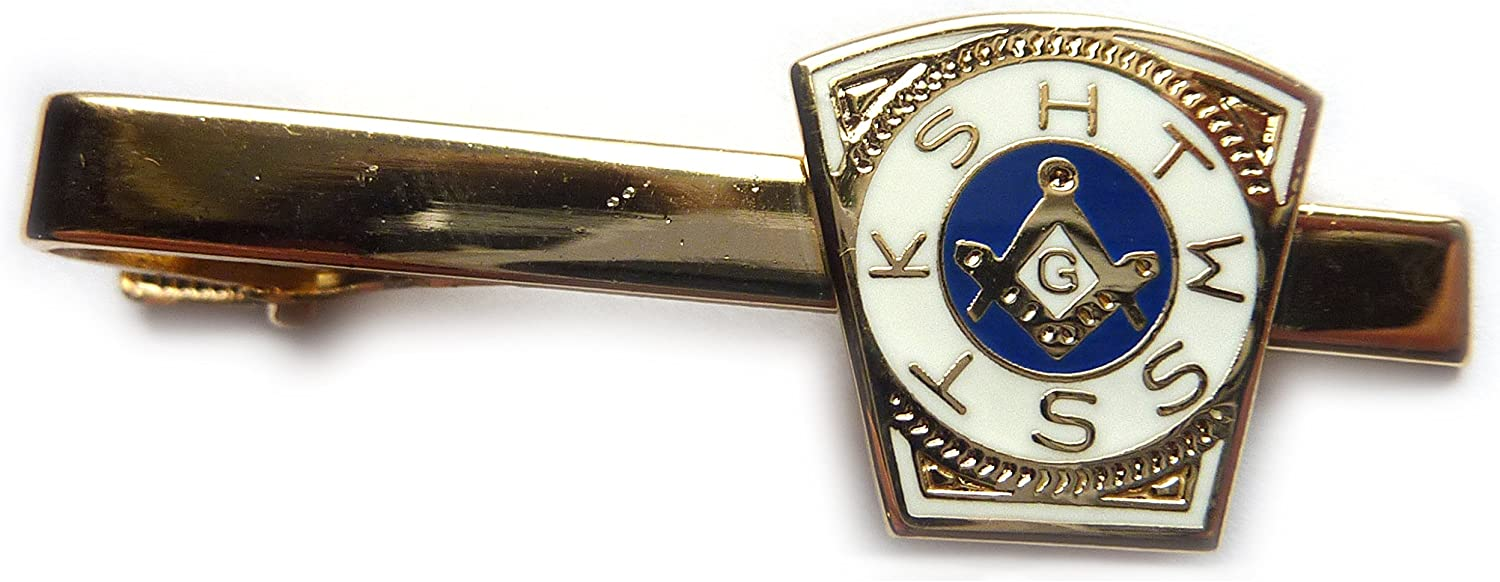 Order of the Holy Royal Arch Freemason Masonic Suit Tie Bar Clip