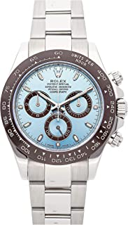 Rolex Daytona Mechanical (Automatic) Glacier Blue Dial Mens Watch 116506 (Certified Pre-Owned)