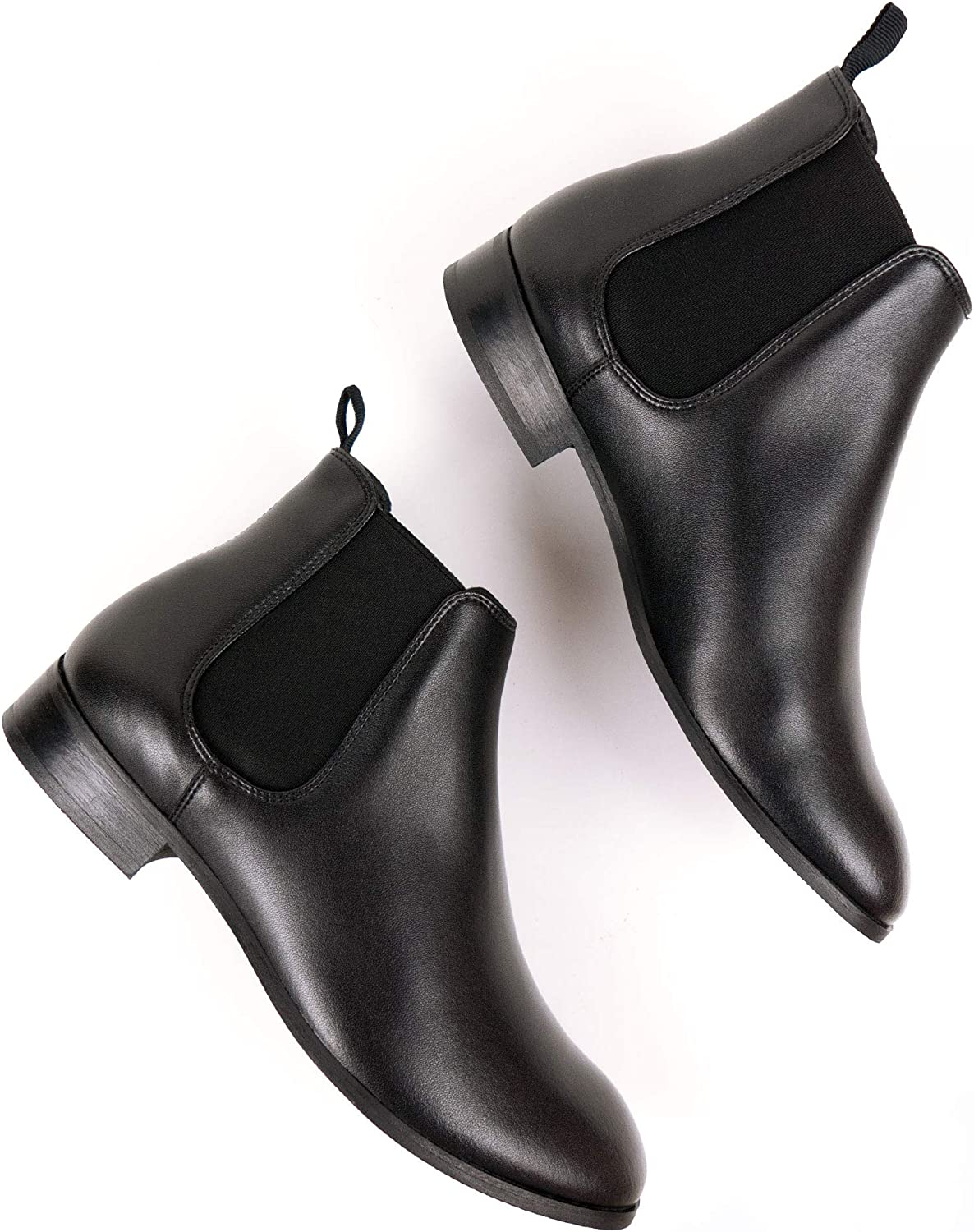 All items free shipping Will's Vegan Shoes Mens Excellent Chelsea Black Boots