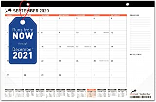 Desk Calendar 17x11 (17x12) - Monthly Planning Desk Pad & Wall Calendar for Home, School and Office - Superior Ink Bleed R...