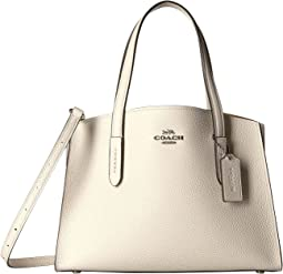 Charlie 28 Carryall in Polished Pebble Leather