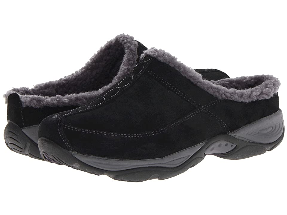 Easy Spirit Exchange (Black/Dark Grey Suede) Women