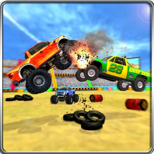 Monster Trucks Demolition Whirlpool Derby 3D SIM