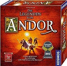 Kosmos 691745 - Die Legenden von Andor, Das Grundspiel, Kennerspiel des Jahres 2013, kooperatives Fantasy-Brettspiel ab 10...