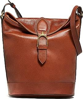 Massimo Dutti Women Shoulder bag leather detail buckle 6925/615