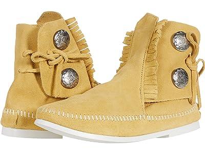 Minnetonka Two-Button Boot Women