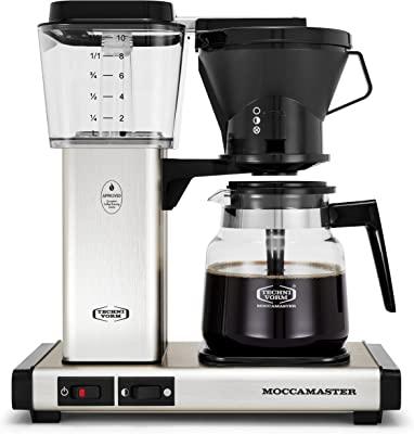 Technivorm 59691 KB Coffee Brewer, 40 oz, Brushed silver