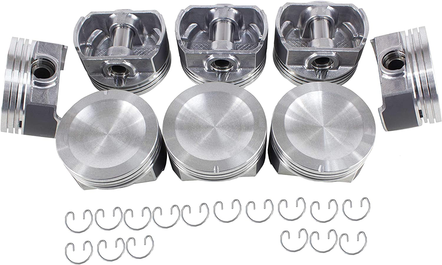 DNJ P4149 High quality new unisex Piston Set for 1995-2004 Ford Mercury Coug Lincoln