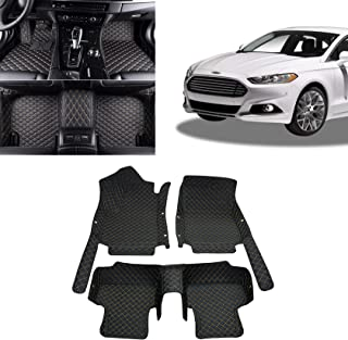 Toryea Custom Fit All-Weather 3D Covered Floor Mats Fit Ford Fusion 2013 2014 2015 2016