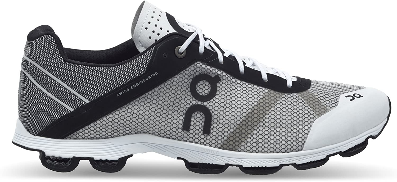 On Women's Cloudrush Running shoes, Black White